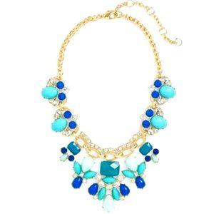 Jewelry - 🆕 Lee Angel Blue Stone Statement Necklace